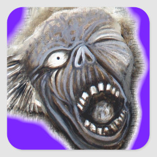 Zombie Rising Square Sticker