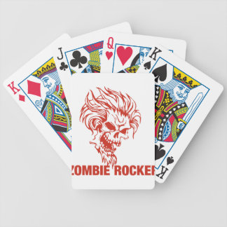 Zombie Rocker - Rock-N-Roll Bicycle Playing Cards
