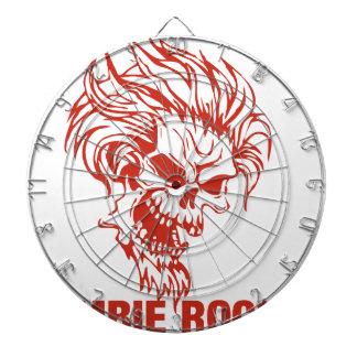Zombie Rocker - Rock-N-Roll Dart Boards