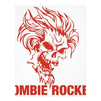 Zombie Rocker - Rock-N-Roll Letterhead