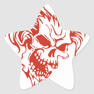 Zombie Rocker - Rock-N-Roll Star Sticker