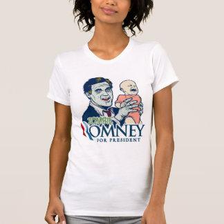 Zombie Romney For President Shirt
