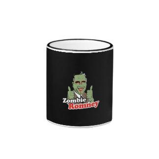 Zombie Romney Ringer Coffee Mug
