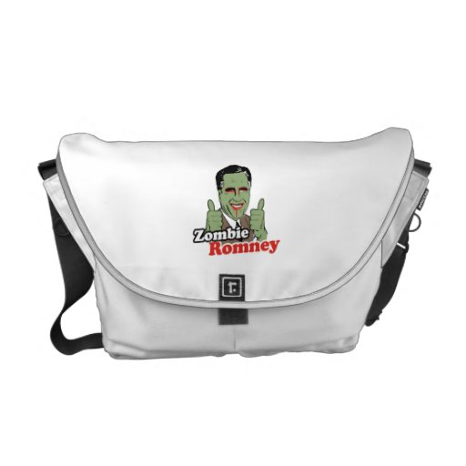 Zombie Romney.png Commuter Bags