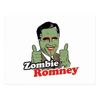 Zombie Romney.png Postcard