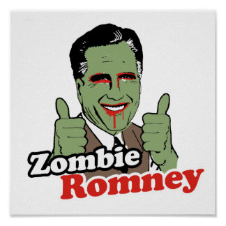 Zombie Romney.png Poster