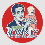 Zombie Romney Sticker