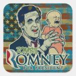 Zombie Romney Sticker Set