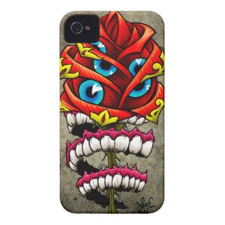 Zombie Rose iPhone 4 Case