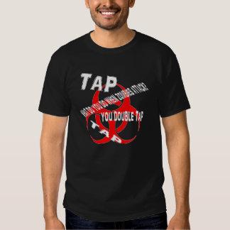 Zombie rule #2 Double tap. T-shirt