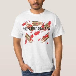 Zombie rule #2 Double tap. Tee Shirt