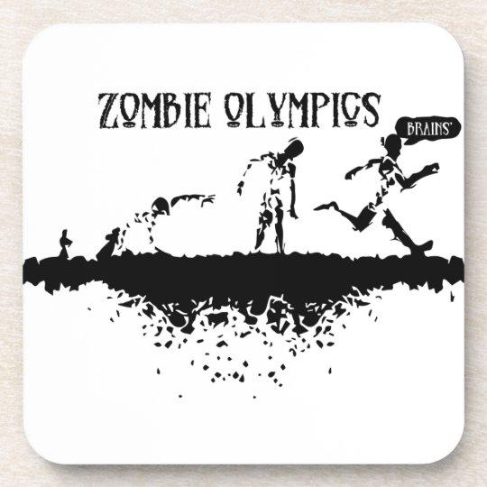 Zombie Run Beverage Coaster