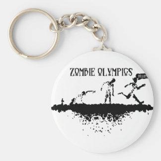 Zombie Run Keychain