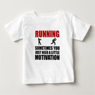 Zombie Running Motivation Baby T-Shirt