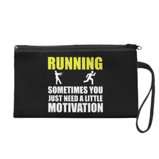 Zombie Running Motivation Wristlet