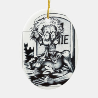 Zombie Sam Ceramic Ornament