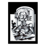 Zombie Sam Large Business Card