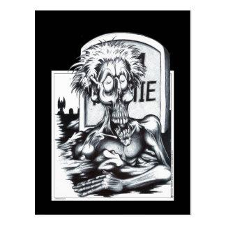 Zombie Sam Postcard