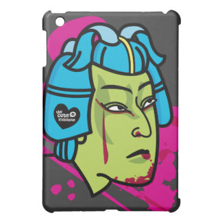 zombie samurai iPad mini cases
