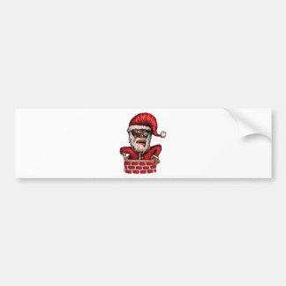 Zombie Santa Bumper Stickers