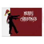 Zombie Santa Cards