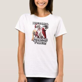 Zombie Santa Christmas Horror T-Shirt