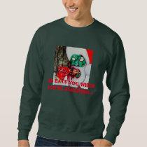 Zombie Santa Christmas jumper Sweatshirt