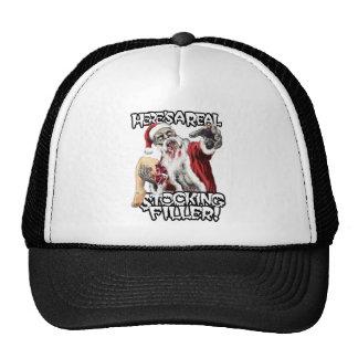Zombie Santa Christmas Mesh Hats
