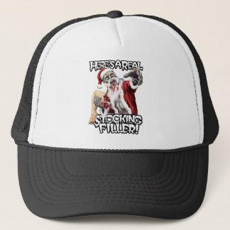 Zombie Santa Christmas Trucker Hat