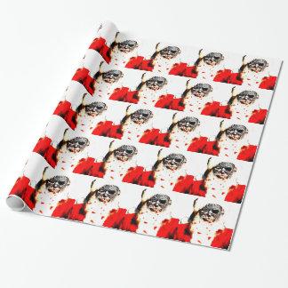 Zombie Santa Gift Wrap
