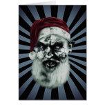 zombie santa greeting cards