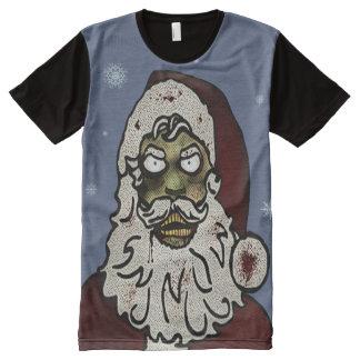 Zombie Santa All-Over Print T-shirt