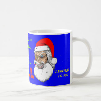 ZOMBIE SANTA LIMITED EDTION MUG ONLY 500 MADE