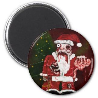 Zombie Santa Magnet