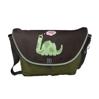 Zombie-Saurus Messenger Bags
