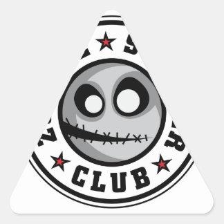 Zombie Scooter Club Stickers