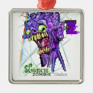 Zombie Scorch Studios Pendant Metal Ornament