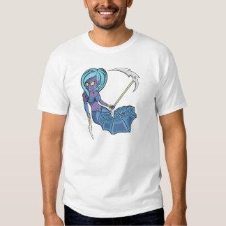 Zombie Seahorse Mermaid Tshirt