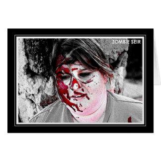 Zombie Seir Blood Striken Card