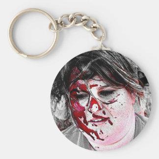 Zombie Seir Blood Striken Keychain