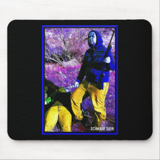 Zombie Seir Kill Victory Mouse Pad