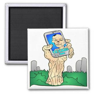 Zombie Selfie Pic Magnet
