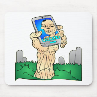 Zombie Selfie Pic Mouse Pad
