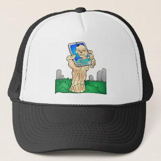Zombie Selfie Pic Trucker Hat