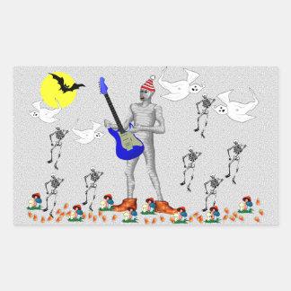 Zombie Serenade Rectangular Sticker