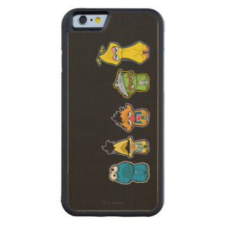 Zombie Sesame Street Characters Carved® Maple iPhone 6 Bumper Case