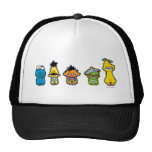 Zombie Sesame Street Characters Hat