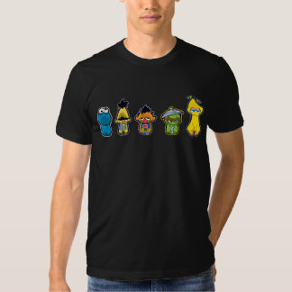 Zombie Sesame Street Characters Shirts