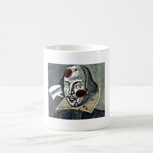 Zombie Shakespeare Coffee Mug