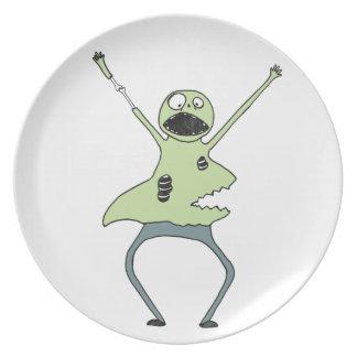Zombie Shark Plate